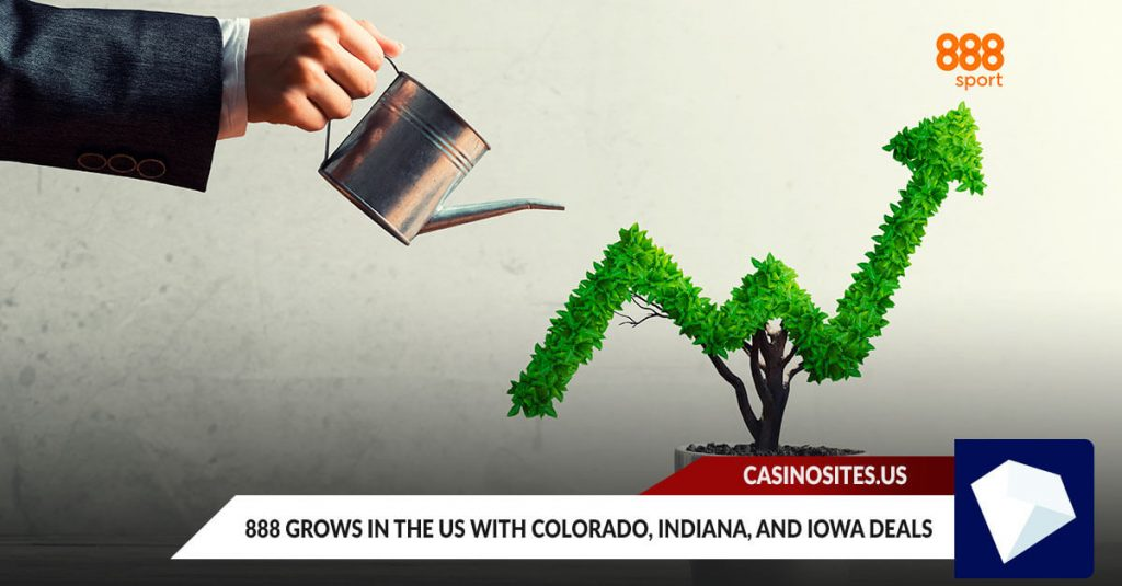 888 Grows in the US with Colorado, Indiana and Iowa Deals