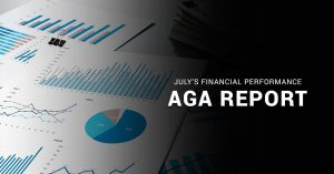 AGA Reveals July's Gaming Industry Financial Performance