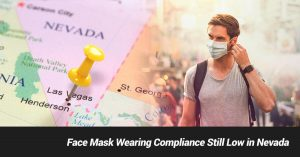 Face Mask Wearing Compliance Still Low in Nevada, Says Governor