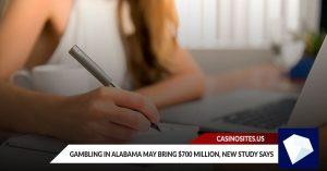 Gambling in Alabama May Bring $700 Million, New Study Says