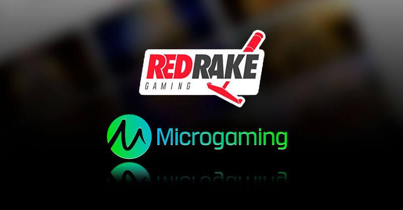Red Rake & Microgaming teaming up