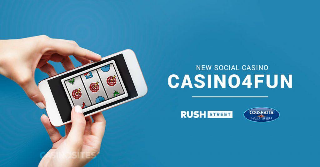 Rush Street Interactive and Coushatta Casino Resort Casino4Fun