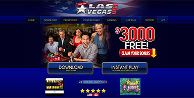 Las Vegas USA Casino home.