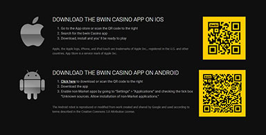 Ways to download casino apps.
