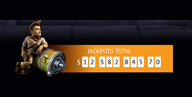 The total jackpot at Spin Palace