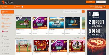Ignition Casino slots