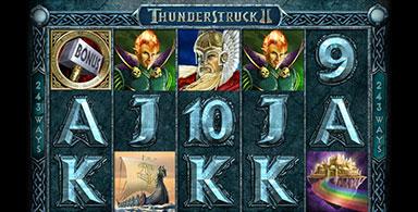 Thunderstruck II At Online Casinos.