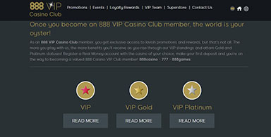 888 VIP page.
