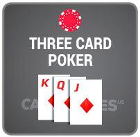 3 card Casino Poker Icon