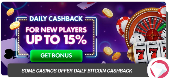 Casino daily cashback deal