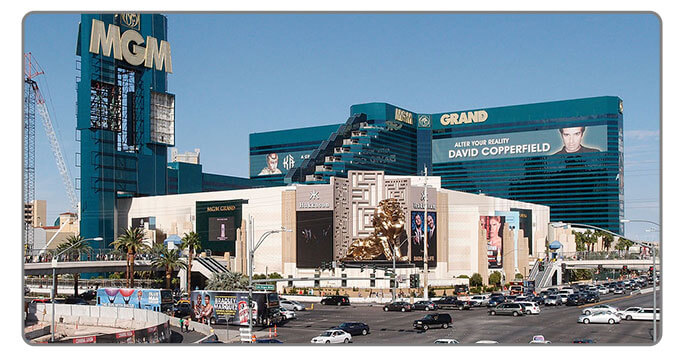 Image of MGM hotel in Las Vegas - High Roller Casino