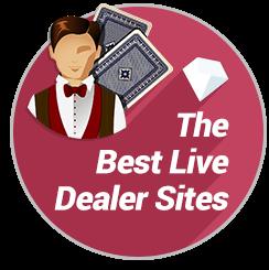 Best Real Money Live Dealer Badge