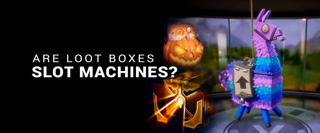 Are Loot Boxes Slot Machines for Gamers?