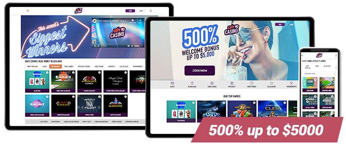 Best Online Casino Cafe Casino Screens