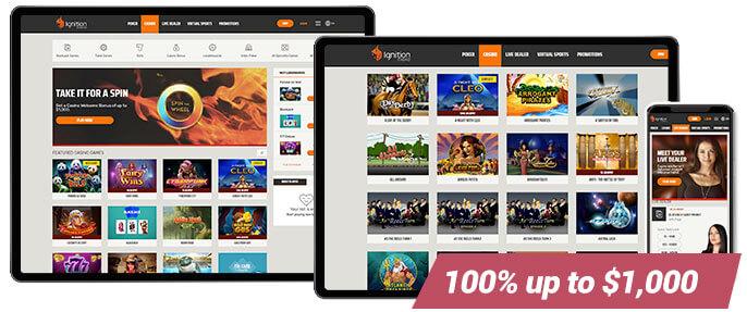 Best Online Casino Ignition Casino Screens