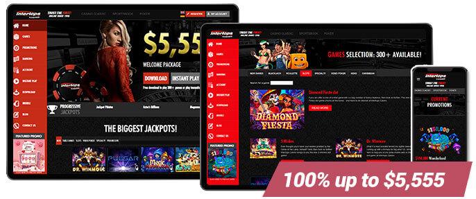Best Online Casino Intertops Red Casino Screens