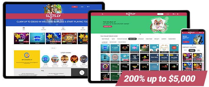 Slots.lv Screenshots Best Casino