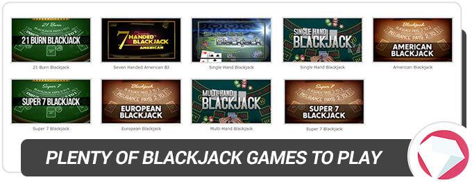 BetOnline Casino Blackjack casino games