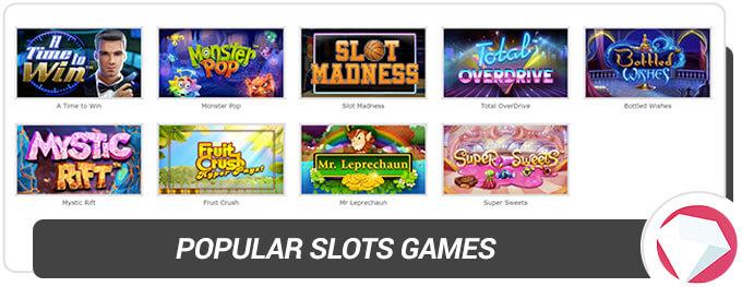 BetOnline Casino Slot Games Selection