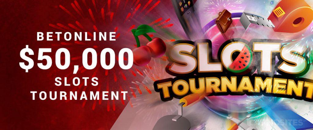 BetOnline Slot Tournament 50,000