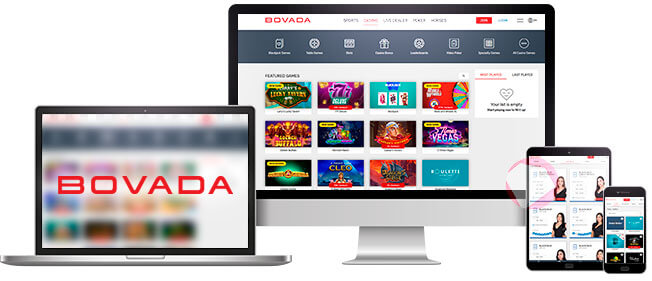 Bovada Online Casino on All Devices