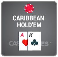 Caribbean Hold'em Casino Poker Icon