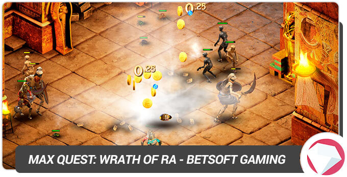 Max Quest Wrath of Ra BetSoft Gaming