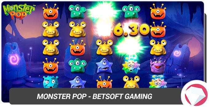 Monster Pop BetSoft Gaming