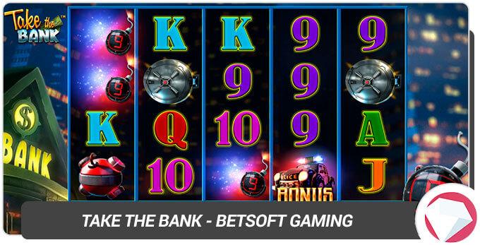 Take the Bank BetSoft Gaming