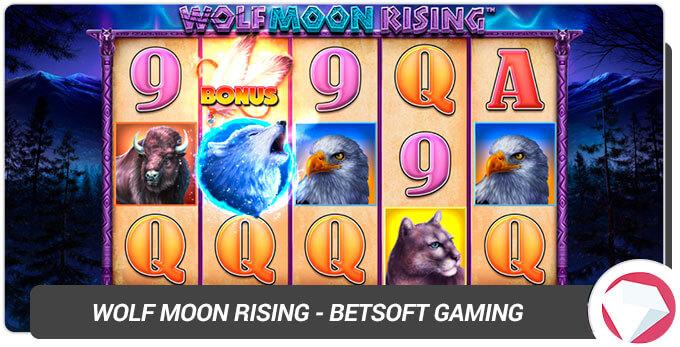 Wolf Moon Rising BetSoft Gaming