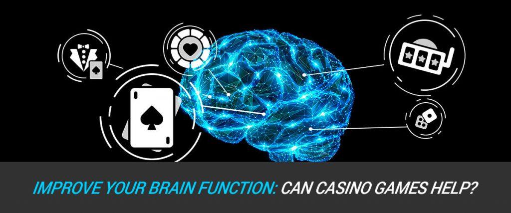 Casino Games improve brain function