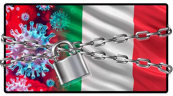 Italy on lockdown COVID-19