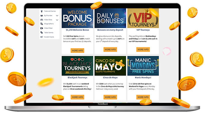 CyberSpins Promotions and Bonuses