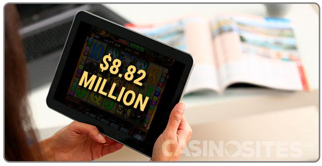 Image of DP $8.82 Million Online Casino Win