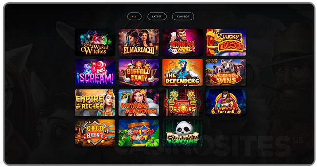 Image of Dragon Gaming's Slot Games