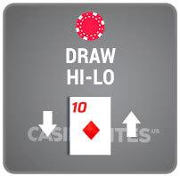 Draw Hi-Lo Casino Poker Icon