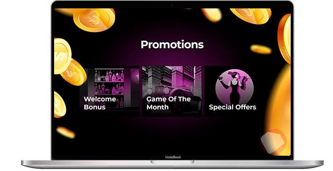 El Royale Casino promotions selection