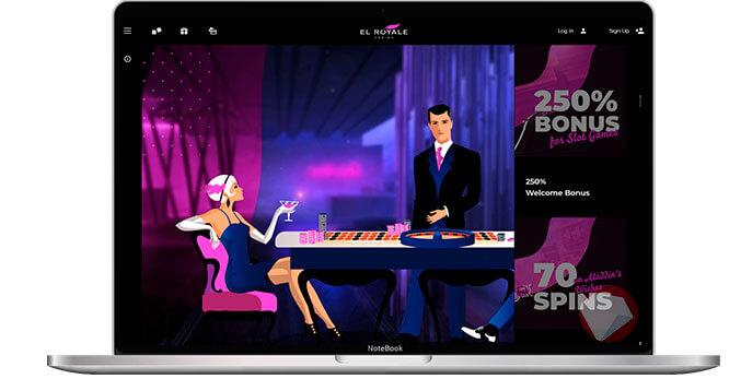 El Royale Casino home page