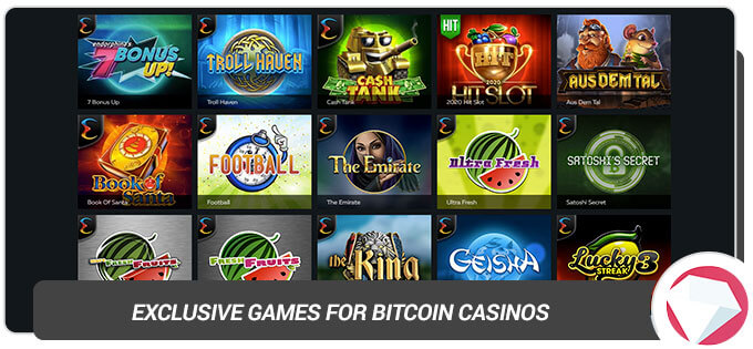 exclusive bitcoin games