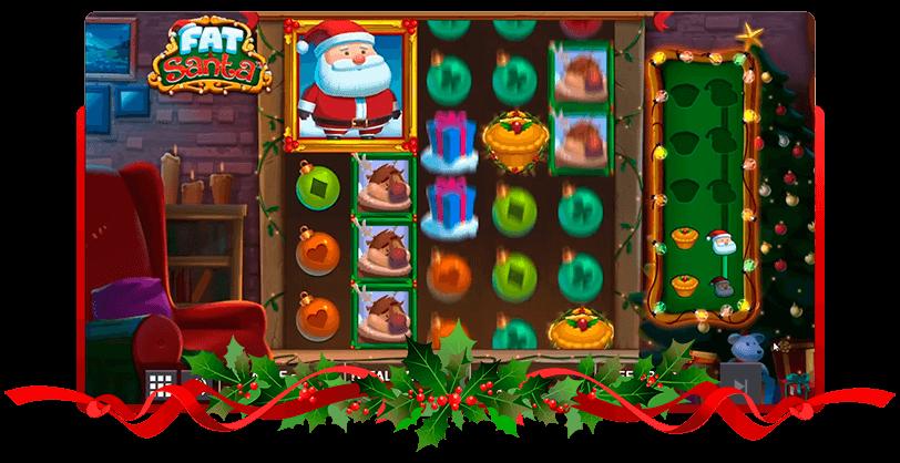Fat Santa Slots Screen