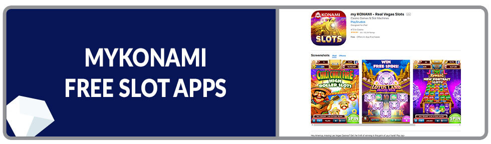 Image of myKonami Free Slot App