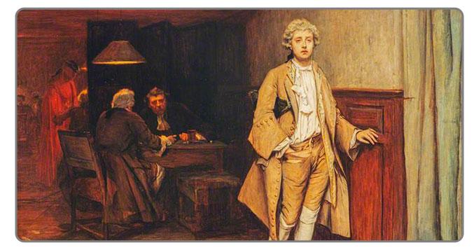 John Pettie The Gambler's Victim