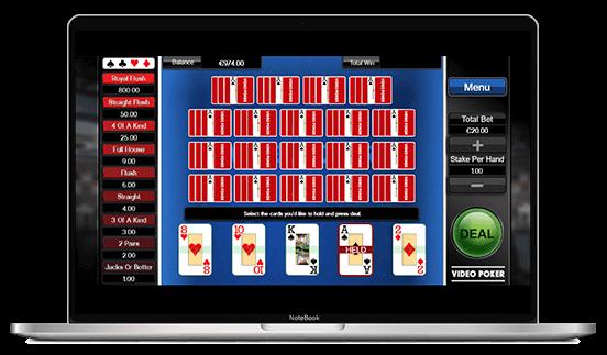 Video Poker Example