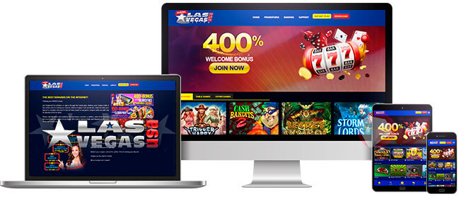 Las Vegas USA Online Casino on All Devices