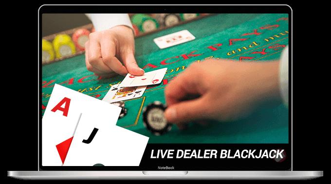 Live Dealer blackjack for real money