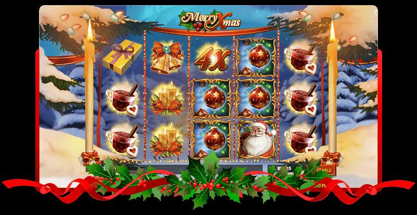 Merry Xmas Slots Play go Screen