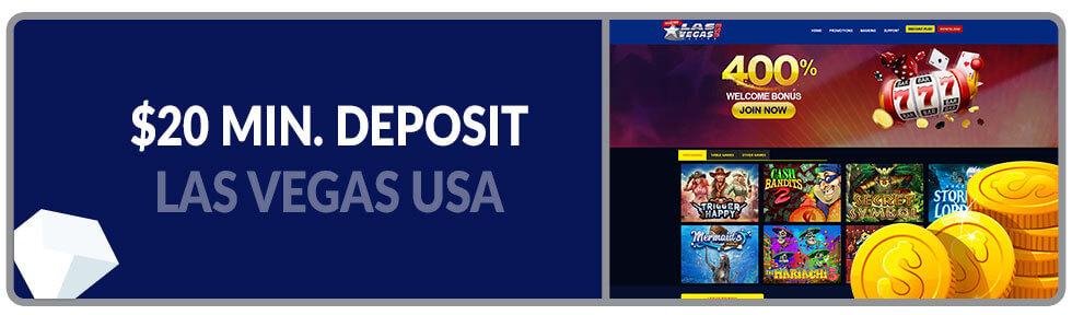 Image of Minimum Deposit Casino Las Vegas USA Casino