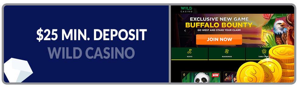 Image of Minimum Deposit Casino Wild Casino