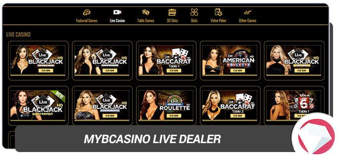 MYB Casino Live Casino