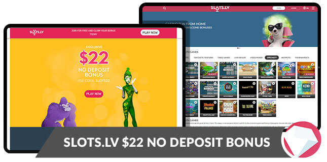 No Deposit Bonus Slots.lv